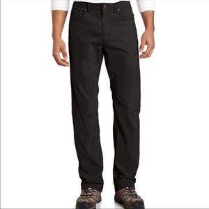 Prana Bridger Black Jeans 36 X 32